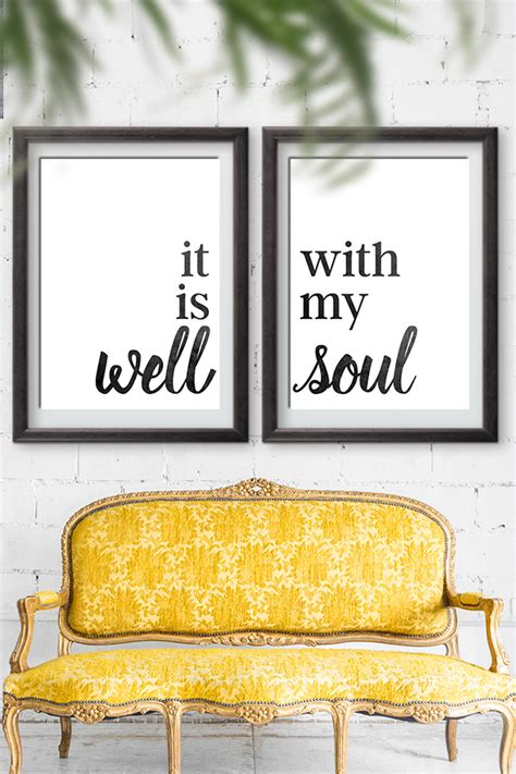 soul home decor sign  printable