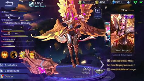 Skin Freya Epic (mobile Legends