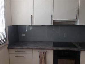 Pose Credence Verre : pose d 39 une cr dence de cuisine vitrolles ~ Premium-room.com Idées de Décoration