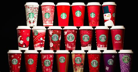 starbucks  years holiday cups