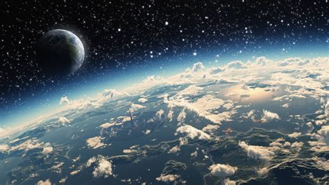 Wallpaper 2560x1440 Px Atmosphere Clouds Planet