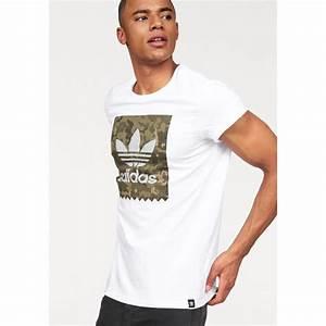 Tee Shirt Adidas Original Homme : t shirt manches courtes homme trefoil camouflage adidas originals blanc adidas originals ~ Melissatoandfro.com Idées de Décoration