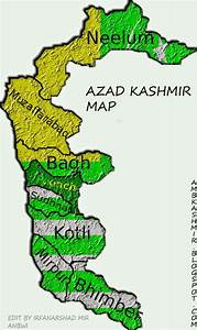 Azad Kashmir Map-AMB DADYAL AZAD KASHMIR