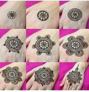 Step by step henna design | Henna Tattoos | Pinterest ...