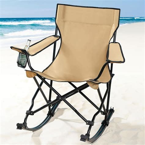 folding outdoor rocking chair aluminum light fixture