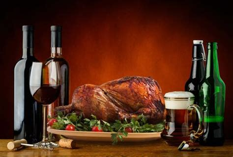 thanksgiving beer  wine pairing guide thrillist