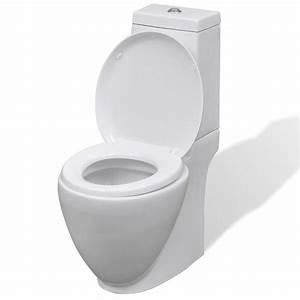 Cuvette Wc Pas Cher : acheter wc cuvette c ramique ronde blanc pas cher ~ Premium-room.com Idées de Décoration