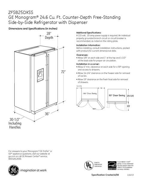 refrigerator users guides refrigerator page