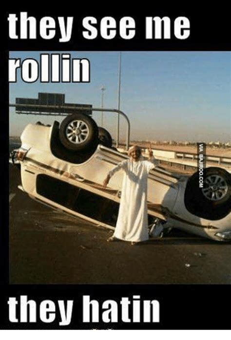 They See Me Rollin They Hatin Meme - they see me rollin they hatin meme on esmemes com