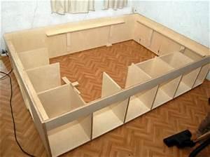 Bett 140x200 Selber Bauen : storage bett bauanleitung zum selber bauen heimwerker forum ~ Michelbontemps.com Haus und Dekorationen
