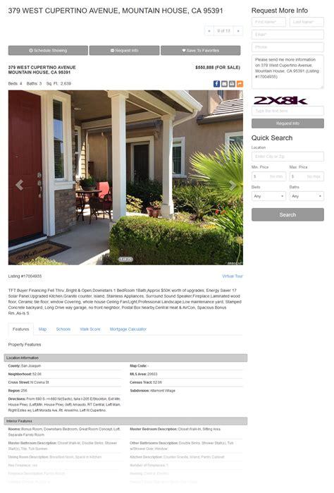 real estate website templates idx mls integration real