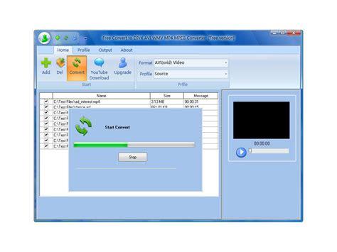 Free Convert To Divx Avi Wmv Mp4 Mpeg Converter Free