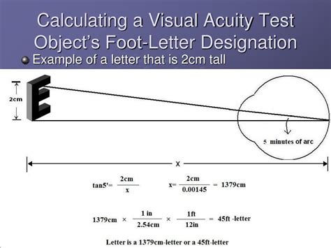 visual acuity powerpoint  id