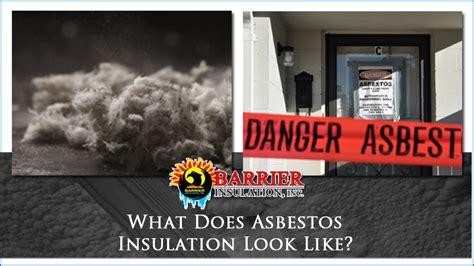 asbestos insulation   barrier