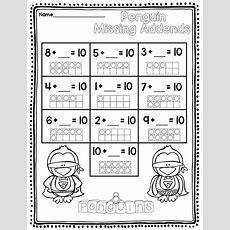 Penguins Winter Activities Math January Activities