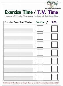 Kids Exercise Chart