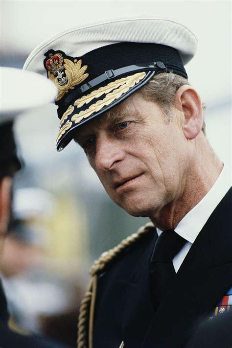 Prince Philip, Duke of Edinburgh in the uniform of the ...
