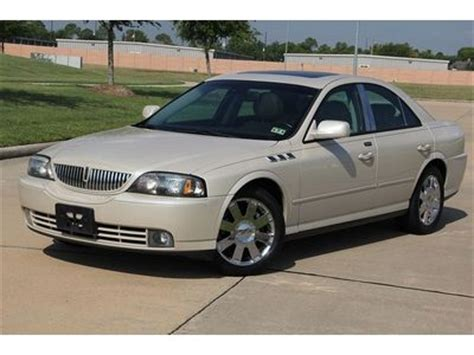 cool ls for sale buy used 2003 lincoln ls pearl white navigation heated
