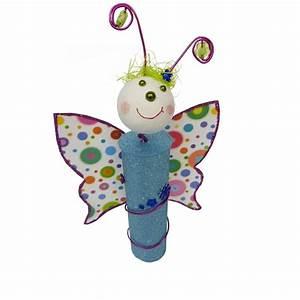Schmetterlinge Basteln Zum Aufhängen : glitzernden schmetterling mit kindern basteln ~ Watch28wear.com Haus und Dekorationen