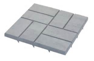 stepping stones emsco group 2157 poly patio pavers grey