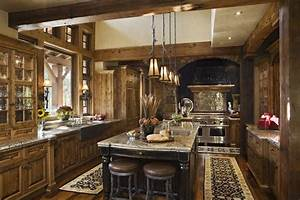 muebles y decoracion de interiores cocinas rusticas alemanas With what kind of paint to use on kitchen cabinets for western metal wall art decor
