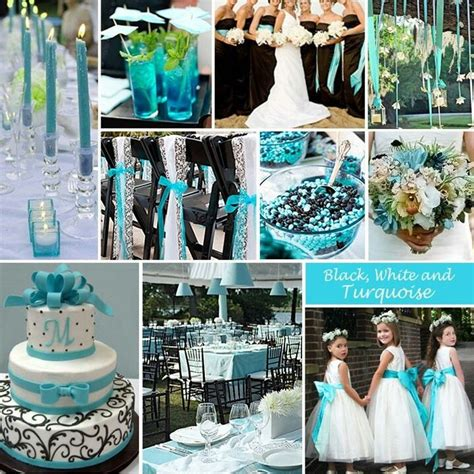 cool colors for a damask theme under the sea wedding