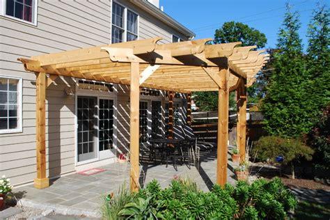 pergolas shade structures traditional patio