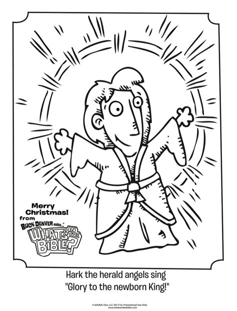 hark  herald angels sing coloring page whats   bible