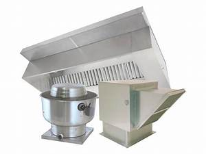 6 Foot Restaurant Exhaust Hood Ventilation System