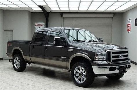 purchase   ford   crew cab lariat diesel fx