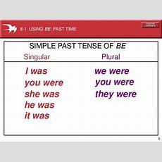 Verbs Simple Past Tense  Level 1 Writing Teachers' Blog
