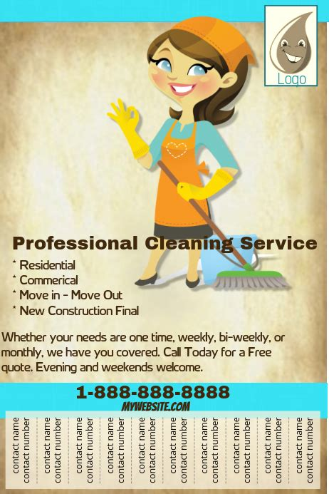 copy  professional cleaning service flyer postermywall