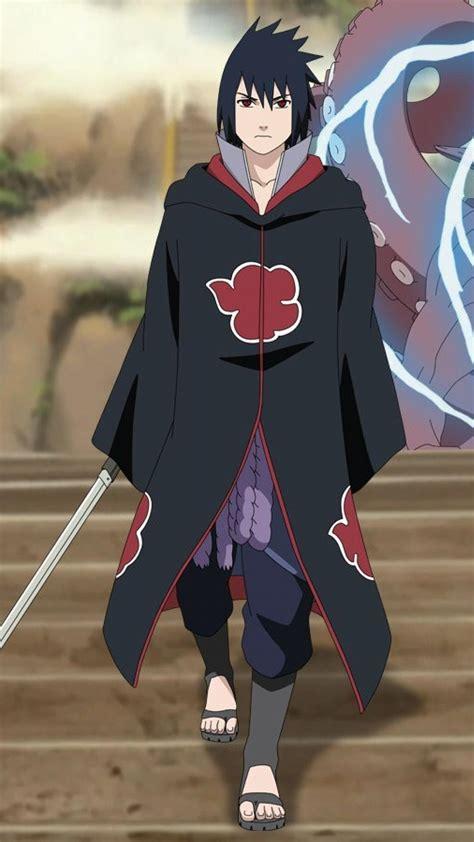 uchiha sasuke naruto shippuden akatsuki sharingan hachibi
