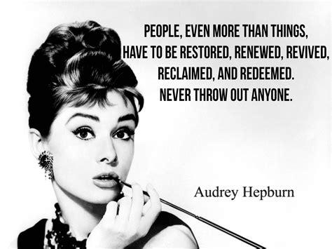 feminist earrings hepburn quotes quotesgram
