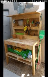 Potting Bench Pallets pallet garden potting bench pallet ideas 1001 pallets