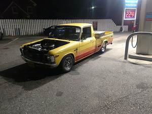 79 Chevy Luv That I Put A V8 Into    Projectcar