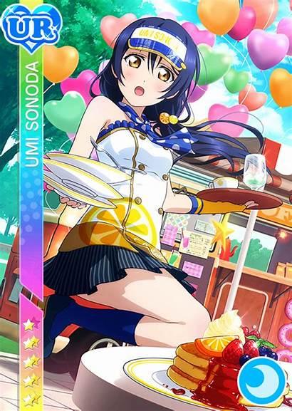 Ur Umi Sonoda Cards April Anime Idolized