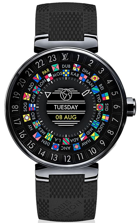louis vuitton tambour horizon  world