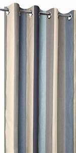 Stores Et Rideaux Com : rideaux en lin rayures sur mesure acheter un rideau ~ Dailycaller-alerts.com Idées de Décoration