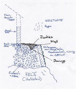 Drainage Hauswand Aufbau : st tzmauer von au en sanieren drainage verlegen ~ Whattoseeinmadrid.com Haus und Dekorationen