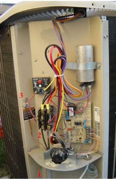 hvac condenser wiring diagram gallery