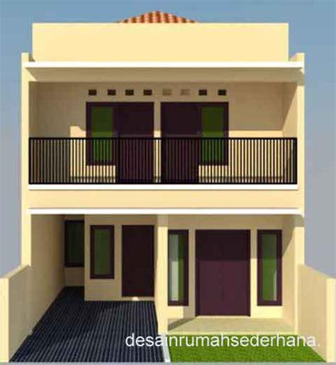 desain rumah minimalis 2 lantai tanpa garasi denah new
