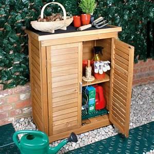 Medium, Portable, Wooden, Outdoor, Garden, Cabinet, Shed, Shelf, Cupboard, Storage, Tools, 7426940591775