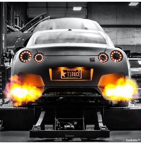Gtr Shooting Flames Wallpaper by Nissan Skyline Gtr Luxury Cars Nissan