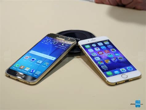 samsung galaxy s6 vs iphone 6 iphone 6 vs samsung galaxy s6 quale comprare tecnoapple