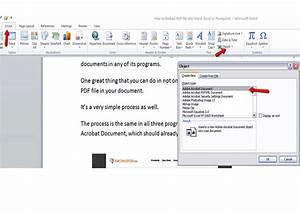 Comment inserer un pdf dans un document word cadeaux for Pdf v word documents