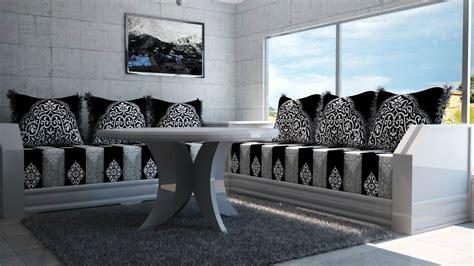 peinture pour tissus canapé salon sejour marocain moderne