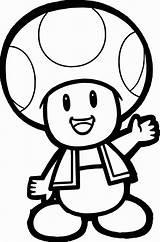 Mushroom Coloring Mario Printable Super Getcolorings Colorings sketch template
