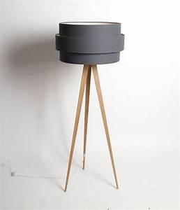 Lampenschirm Für Stehlampe : stehlampe lampenschirm anthrazit stehleuchte mit einem gestell in holzoptik ~ Orissabook.com Haus und Dekorationen