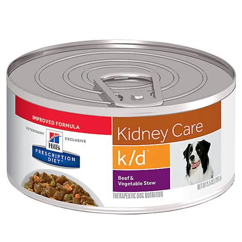 hills prescription diet kd kidney care dog food beef